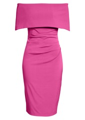 Vince Camuto Popover Cocktail Dress (Regular & Petite)