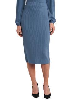 Vince Camuto Rib Knit Pencil Skirt