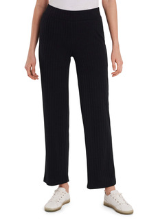 Vince Camuto Ribbed Knit Flare Pull-On Pants