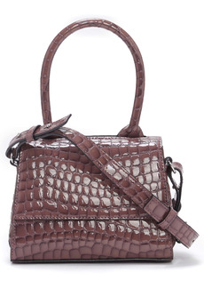 Vince Camuto Silva Embossed Leather Crossbody Bag