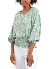 Vince Camuto Smocked Top