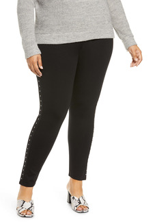 Vince Camuto Studded Leggings (Plus Size)