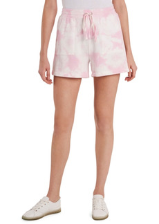 Vince Camuto Tie-Dyed Drawstring Shorts