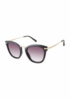 Vince Camuto VC898 UV Protective Cat-Eye Metal Detailed Sunglasses | All-Season | A Gift of Standout Style