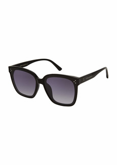 VINCE CAMUTO Women's VC965 Chic UV Protective Studded Cat-Eye Sunglasses | Wear Year-Round | Luxe Gifts for Women