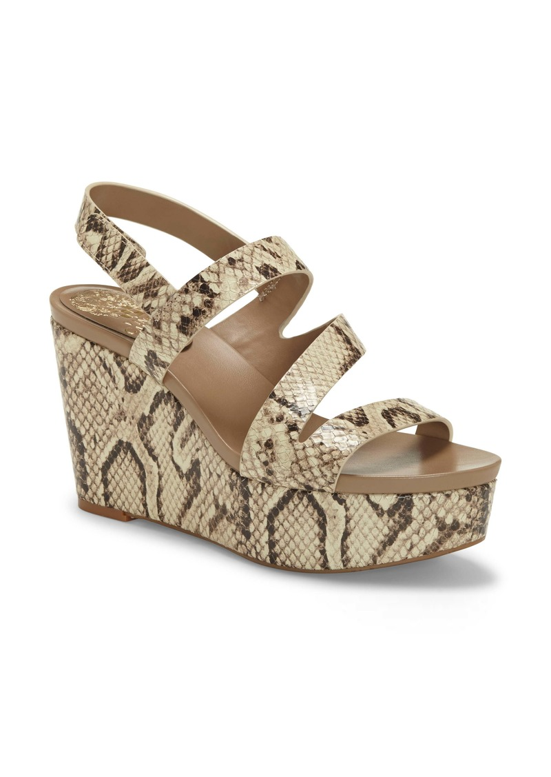 Vince Camuto Velley Platform Wedge Sandal (Women)