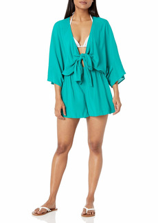 Vince Camuto Women's Convertible TIE Cover UP Romper