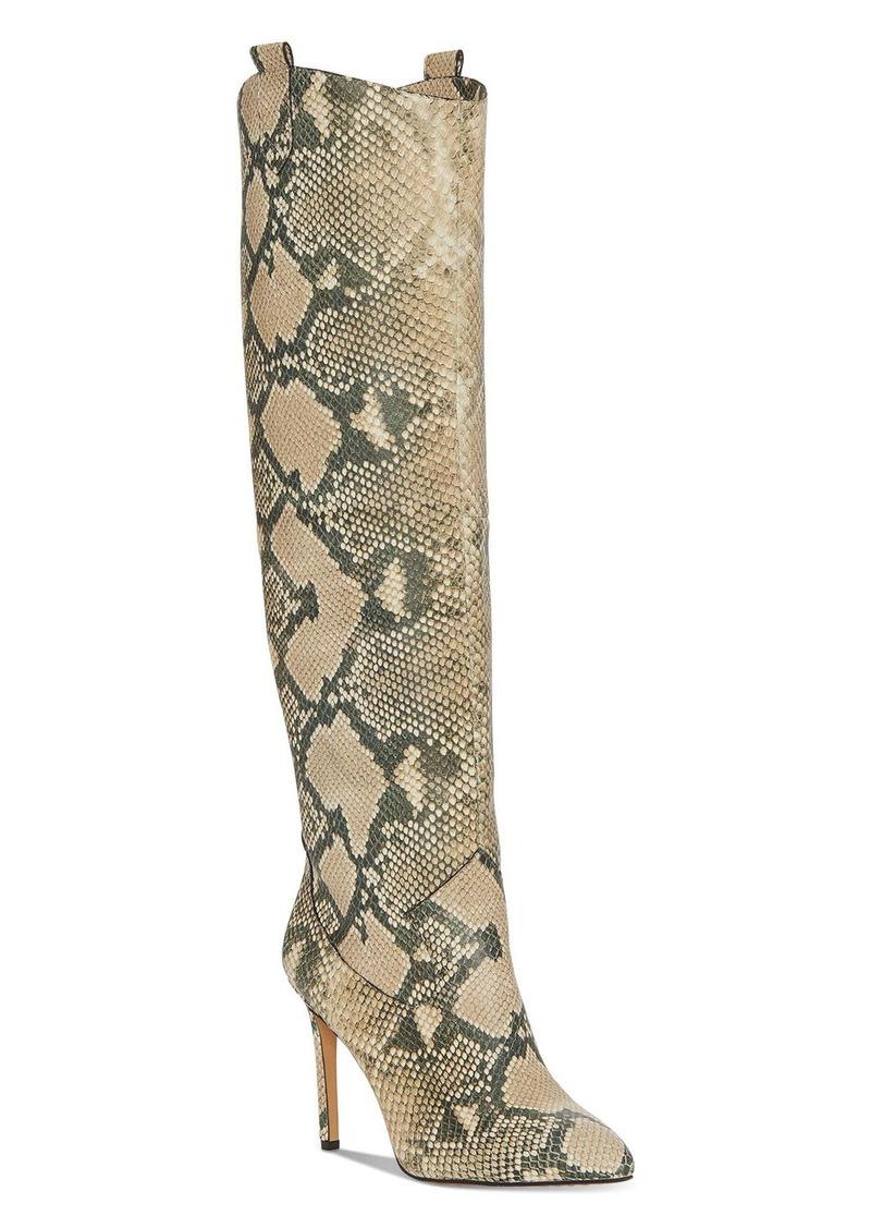 VINCE CAMUTO Women's Kervana Pointed Toe High Heel Dress Boots
