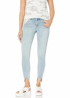 Vince Camuto Women's Un-Even Hem Five Pocket Skinny Jean  25/