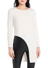 Women's Vince Camuto High/low Cutout Long Sleeve Tunic