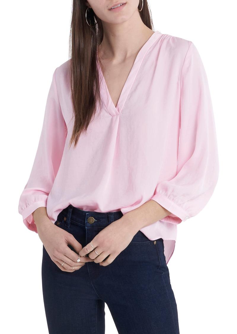 Women's Vince Camuto Rumple Fabric Blouse