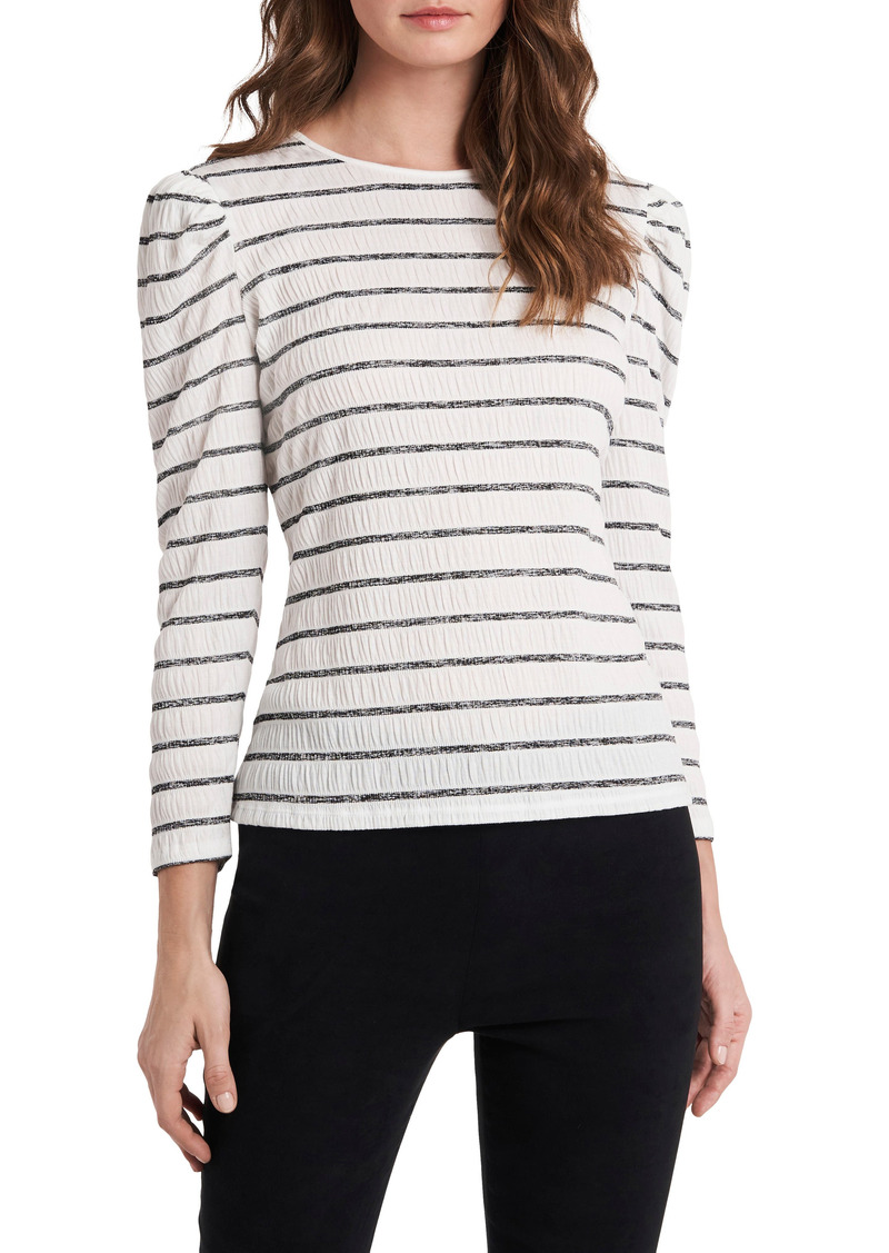 Women's Vince Camuto Shirred Puff Sleeve Top