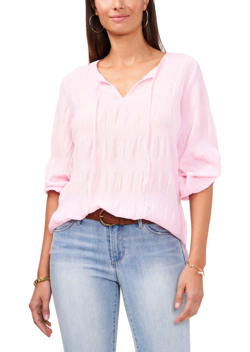 Women's Vince Camuto Smocked Blouse