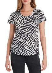 Women's Vince Camuto Zebra Print Top