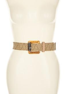 Vince Camuto Woven Waist Belt