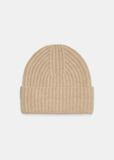 Vince Cashmere Ribbed Beanie