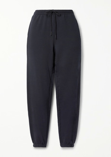 Vince French Cotton-terry Track Pants
