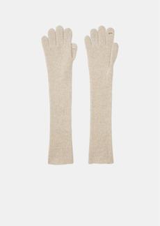 Vince Ribbed Cashmere Gloves