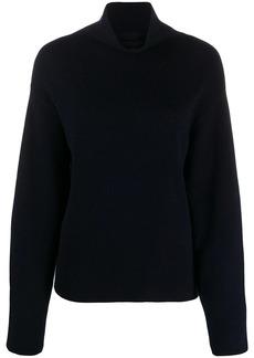 Vince roll neck chunky knit jumper