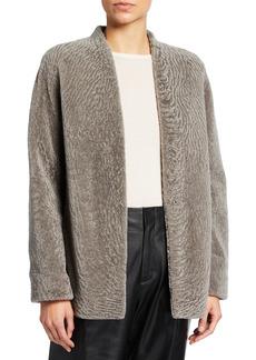 Vince Textured Lamb Shearling Jacket