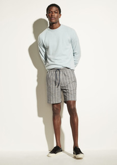 Vince Textured Stripe Pull On Short