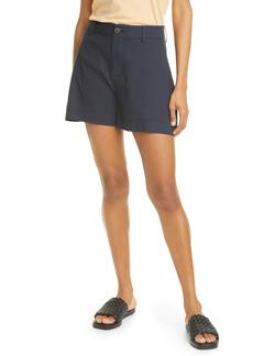 Vince Casual Linen Blend Shorts