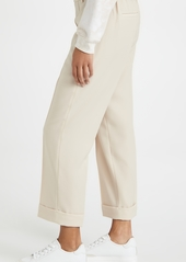 Vince Cuffed Tapered Pull On Pants
