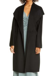 Vince Drape Front Wool & Cashmere Wrap Coat