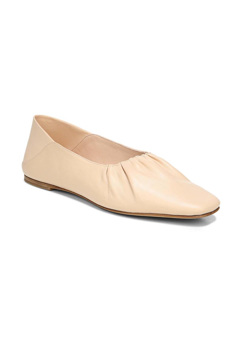 Vince Kali Convertible Ruched Ballet Flat (Women)