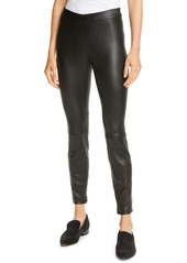 Vince Leather Zip Leggings