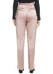 Vince Liquid Shine Satin Trousers