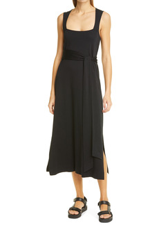 Vince Sleeveless Pima Cotton Dress