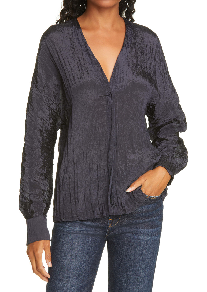 Vince Textured Blouse