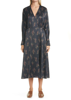 Vince Wisteria Dolman Sleeve Dress
