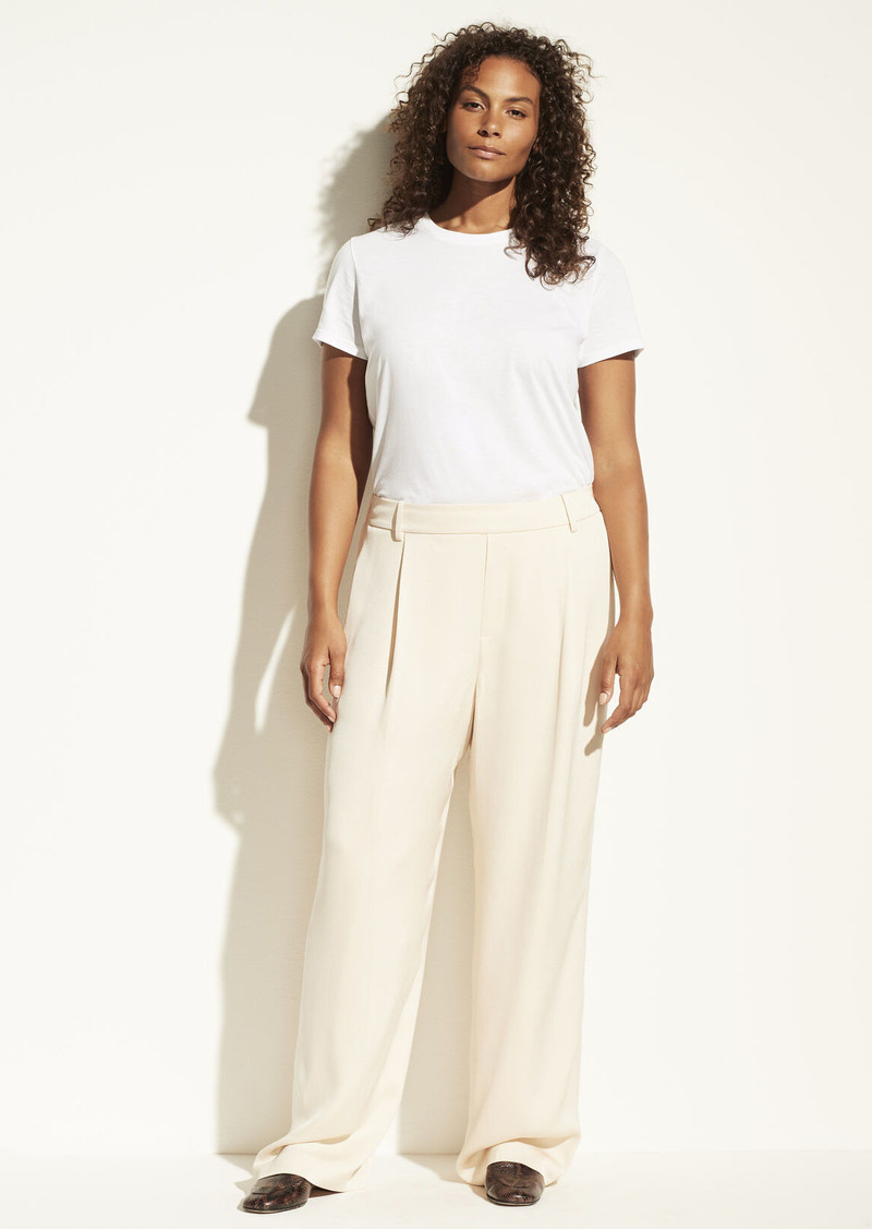 Vince Wide Leg Pull On Pant