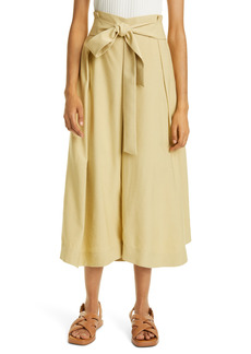 Women's Vince Belted Palazzo Culottes