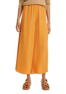 Women's Vince Drapey Satin Culotte Pants