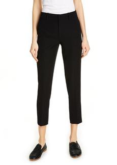 Women's Vince Flat Front Crop Trousers