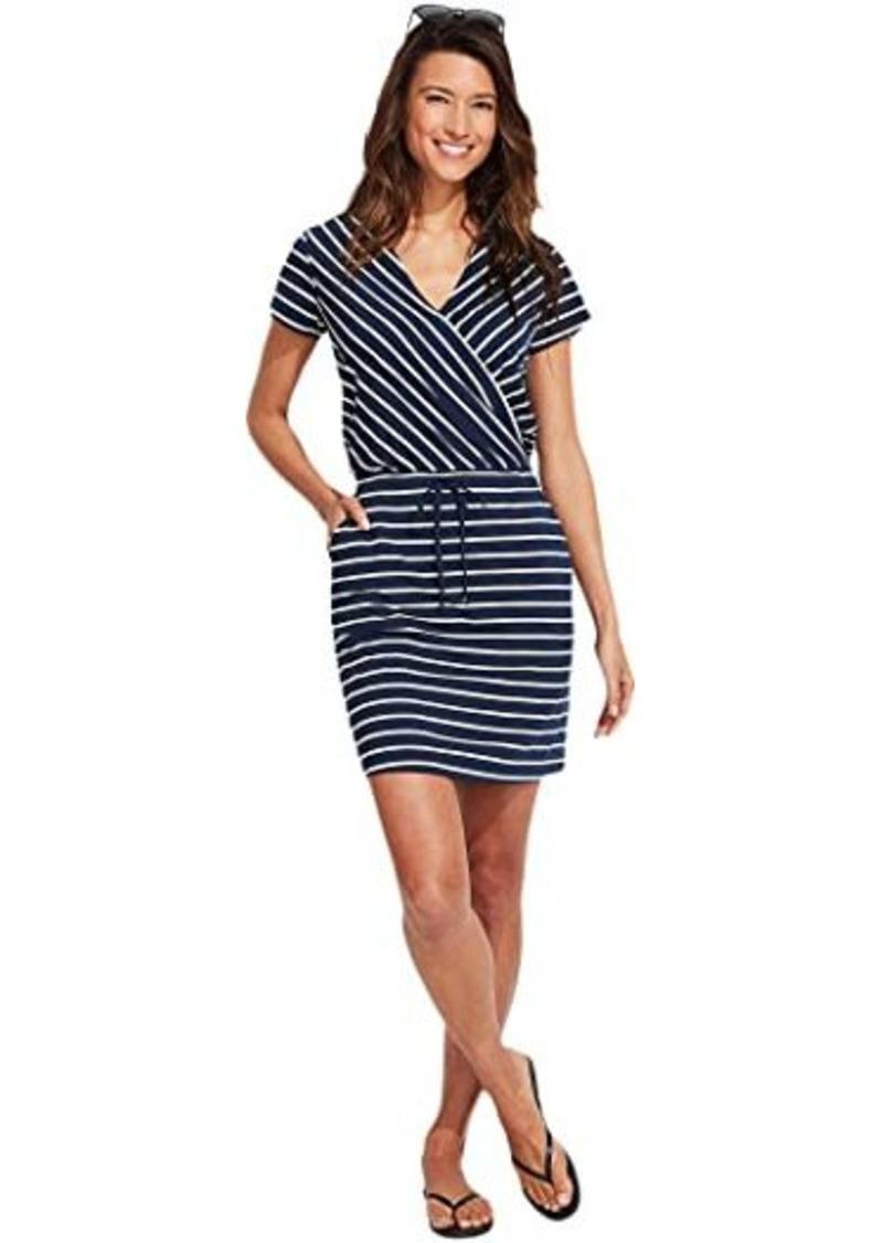 Vineyard Vines Sankaty Striped Wrap Dress