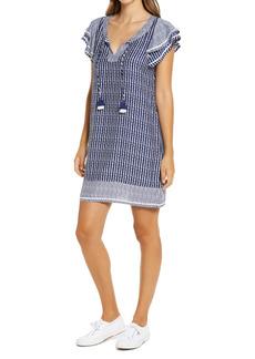 Women's Vineyard Vines Dot Stripe Vineyard Tunic