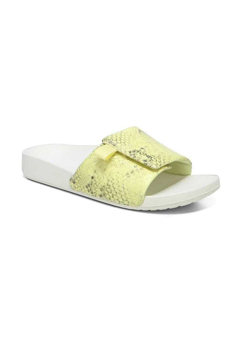 Vionic Keira Snakeskin Embossed Slide Sandal (Women)