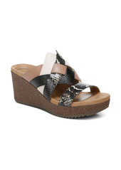 Vionic Tara Platform Wedge Slide Sandal (Women)