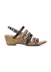 Vionic Tess Snake Embossed Wedge Sandal (Women)