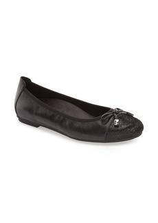 Women's Vionic 'Minna' Leather Flat