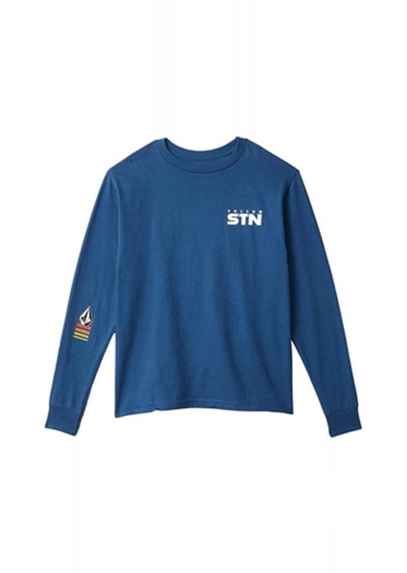 Volcom Bloxer Long Sleeve T-Shirt (Little Kids/Big Kids)