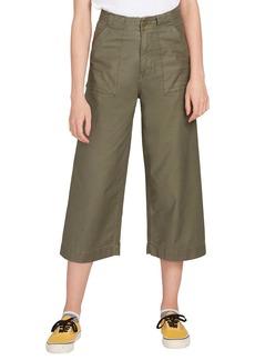 Volcom Army Whaler Wide Leg Crop Pants