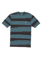 Volcom Belovisto Irregular Stripe T-Shirt (Big Boy)