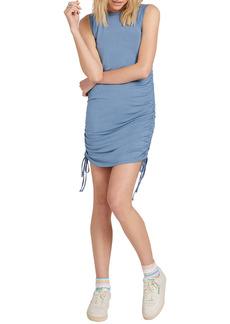 Volcom Cinch U Were Gone Ruched Knit Dress