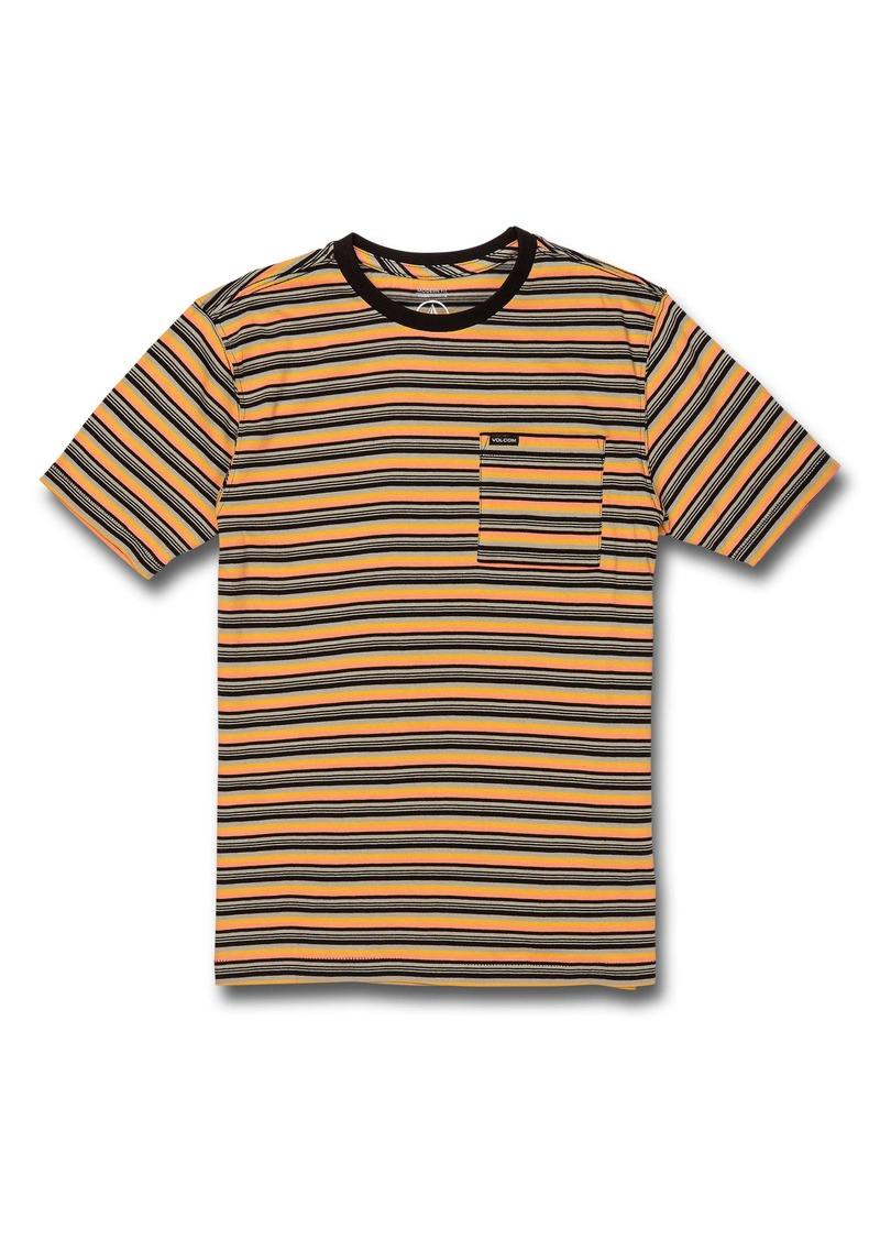Volcom Cornett Stripe T-Shirt (Big Boy)