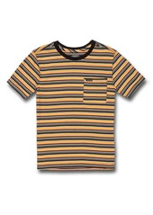 Volcom Cornett Stripe T-Shirt (Toddler & Little Boy)